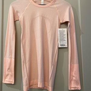 lululemon swiftly tech size 2 long sleeve NWT